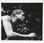 [Untitled, stone statue of a man reaching forward]; Wells, Alice; ca. 1965; 1972:0287:0064