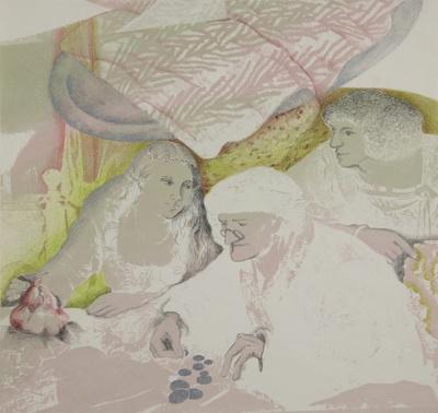 Silver Platter; Hokin, Linda; 1976; 1981:0007:0001