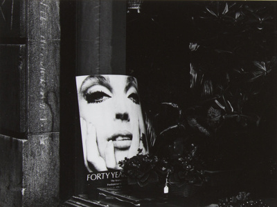 Untitled [Face]; Mertin, Roger; 1972; 1982:0029:0001