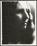 [Untitled, portrait of a woman with long hair]; Wells, Alice; c.a. 1960; 1988:0026:0009