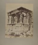 Athènes. Cariatides de l'Érechtéion, Grèce; Bonfils, Félix; c.a. 1870s; 1979:0112:0012