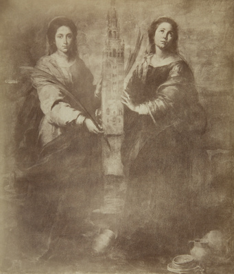 Saint Juste and Saint Rufine; Murillo, Bartolome Esteban; Laurent, Jean; undated; 1978:0149:0004