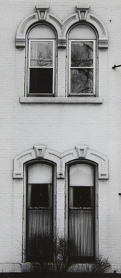 Untitled [Vertical windows]; Mertin, Roger; undated; 1998:0004:0018