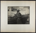 [woman leaning against wooden boat on beach]; Hahn, Alta Ruth; ca.1930; 1982:0020:0024