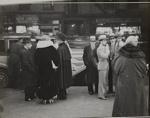Untitled [People on sidewalk]; Salomon, Erich; ca. early 1930s; 1971:0008:0001
