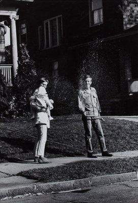 Untitled (Nathan Lyons and Barb Barrow); Barrow, Thomas F.; 1967; 1971:0171:0001