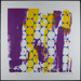 Untitled [Circles with purple and yellow washes of color]; Electa, Sister; ca. 1970; 1972:0096:0007