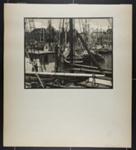 [boats in harbor, likely Gloucester, Massachusetts] ; Hahn, Alta Ruth; ca.1930; 1982:0020:0014