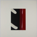 Untitled [White and red abstract shapes]; Carlson, Dale S.; 1974; 1978:0129:0021