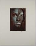 Untitled [Multicolored face]; Robinson, Bob; 1974; 1978:0129:0024