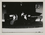 [Untitled, five women and two pianos] ; Wells, Alice; 1969; 1988:0004:0020