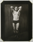 Untitled [Body builder]; Gay, Arthur; ca. 1920s -- 1940s; 1981:0013:0007