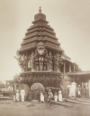 Festival Car, Madras; Nicholas & Co.; ca. 1880s; 1978:0130:0001