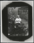 [Untitled, little girl and kitten]; Wells, Alice; c.a. 1970; 1988:0023:0007
