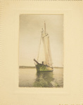 Untitled [Sailboat]; Thompson, Fred; ca. 1900s; 1986:0024:0003