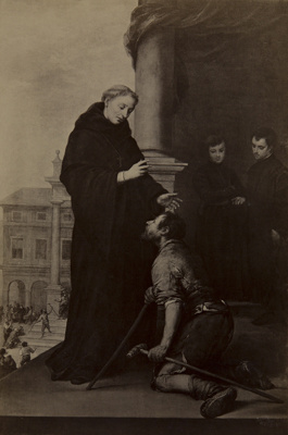 Untitled [St. Francis and a paralytic]; Hanfstaengl, Franz; undated; 1978:0095:0008