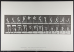 Jumping; running straight high jump. [M. 154]; Da Capo Press; Muybridge, Eadweard; 1887; 1972:0288:0037