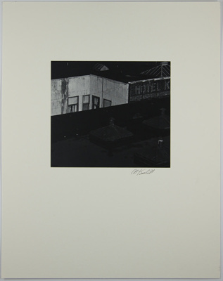 Untitled [Roofs]; Krabill, Al; 1974; 1978:0129:0015