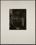 Untitled [Fireplace with clutter]; Fogt, Robert; ca. 1971; 1973:0002:0004