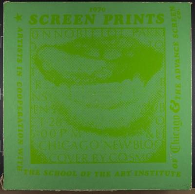 Screen Prints 1970; Sheridan, Sonia Landy; 1970; 1972:0096:0001-76