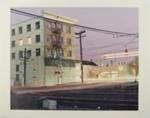 Untitled [Railroad crossing]; Gilbert, Lorraine; 1982; 1983:0048:0004