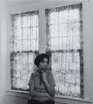 Yvonne Holds Her Portrait; Parker, Bart; 1973; 1981:0093:0023