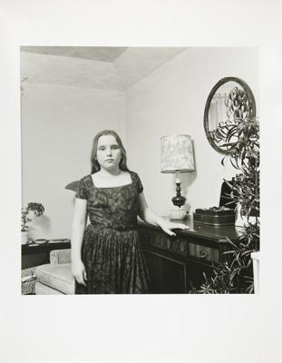 Untitled [Girl wearing dress]; Kaida Knapp, Tamarra; ca. 1977; 2011:0025:0017