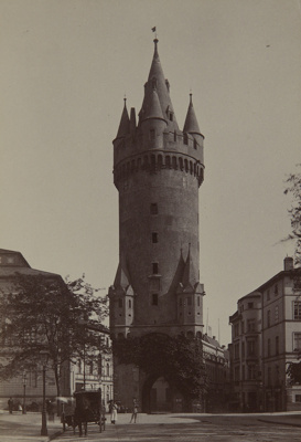 Eschemheimer Thurm; Hertel, C.; ca. 1860s; 1979:0106:0003