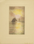 Untitled [Sailboats]; Thompson, Fred; ca. 1900s; 1986:0024:0001