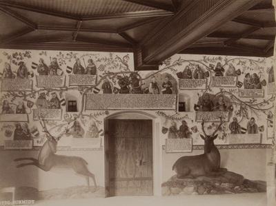 Untitled [Hunting Hall, Tratzberg Castle]; Schmidt, Otto; 1895; 1977:0075:0003