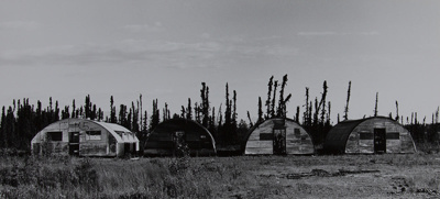 Untitled [Quonset huts] ; Starr, Nina Howell; ca. late 1960s; 1971:0504:0001