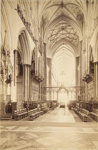 Choir at Salisbury Cathedral; Valentine, James; ca. 1860-1900; 1979:0060:0007
