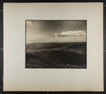 [landscape of valley, trees and mountains]; Hahn, Alta Ruth; ca.1930; 1982:0020:0033