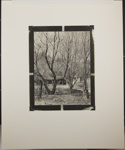 Untitled [Two cabins.]; Enos, Franklin; 1970; 1972:0066:0001