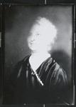 [Untitled, portrait of older woman in satin dress] ; Wells, Alice; ca. 1960; 1988:0026:0007