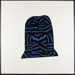 Untitled [Abstract black and blue shape]; Ramberg, Christina; 1970; 1972:0096:0040