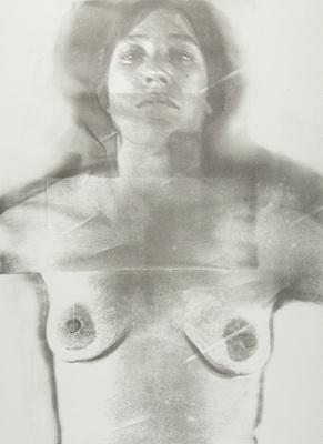 Untitled [Self-portrait]; Lyons, Joan; 1974; 1975:0006:0001