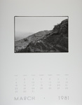 [Page Three of 1981 Calendar - March]; Coppola, Richard; 1981; 2000:0141:0003