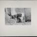 [dog urinating on wall]; Christian, John; 1969; 1982:0075:0004