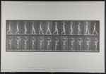 Walking, carrying 75-lb. stone on head, hands raised. [M. 27]; Da Capo Press; Muybridge, Eadweard; 1887; 1972:0288:0010
