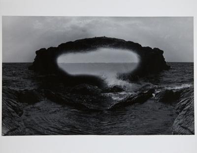 Untitled [Rock in water]; Parker, Bart; 1968; 1981:0093:0007