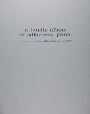 Title Page; Lyons, Joan; 1969; 1981:0003:0001