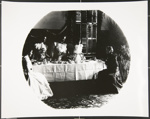 [Untitled, five women with tea service]; Wells, Alice; c.a. 1960s; 1988:0032:0006