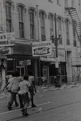 Black Youths of New Orleans; Rodriguez-Vazquez, Emilio; ca. 1970s; 1987:0052:0008