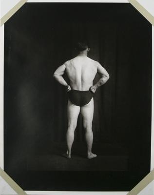 Untitled [Body builder's back]; Gay, Arthur; ca. 1920s -- 1940s; 1981:0013:0018