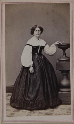 Untitled [Studio portrait of Elizabeth D. Tripp]; Lewis, R.A.; 1975:0031:0035