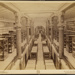 US Patent Office. Main Floor and the Gallery of model rooms; Bell, C.M.; ca. 1900; 1976:0003:0017