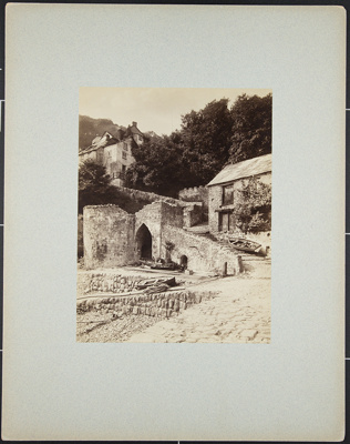 Clovelly, Entrance to the Village from Pier; Bedford, Francis; ca. 1880; 1979:0104:0002