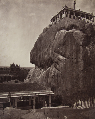Rock at Trichinopoly; Nicholas & Co.; ca. 1880s; 1978:0130:0008