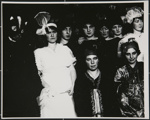 [Untitled, group costume portrait ]; Wells, Alice; 1972; 1988:0027:0006